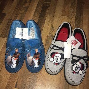 Men's Disney Slippers Size M